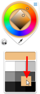 Creating a color swatch