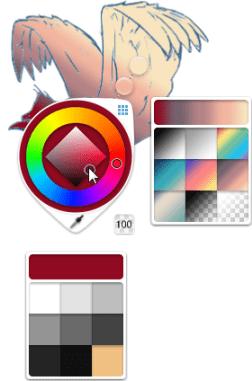 Change gradient fill