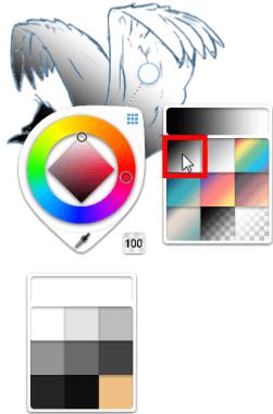 New gradient fill
