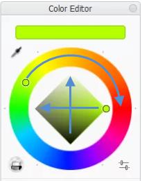 Color Wheel in Sketchbook Pro for desktop