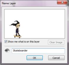 Name Layer dialog in Sketchbook Pro