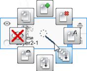 Merge All icon in the Sketchbook radial marking menu