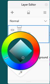 Background layer in Sketchbook Pro Windows 10