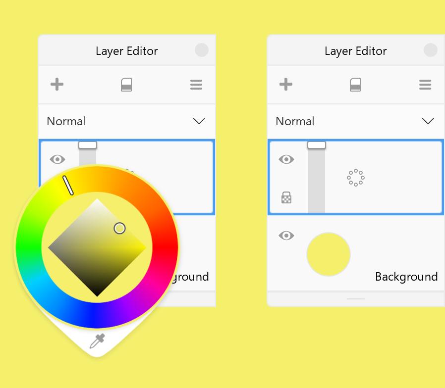 Background color - Color Wheel