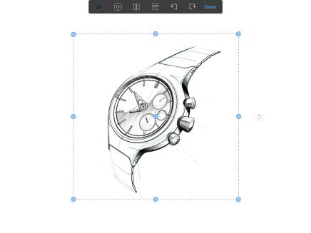 Distort tool in Sketchbook