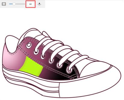 Fill tolerance color example 2