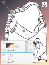 Example of Fill all layers