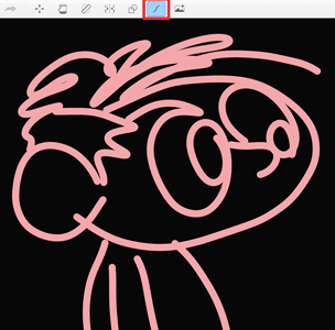 Sketch using Predictive Stroke