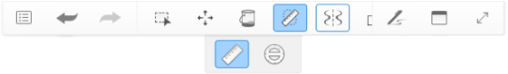 Toolbar with Symmetry active