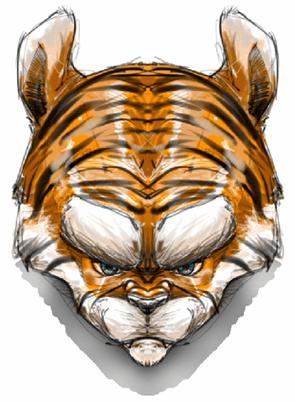 Example of horizontal symmetry