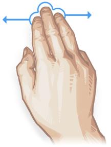 Undo/Redo gesture in Sketchbook for Windows 10