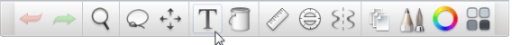 Toolbar in the free version