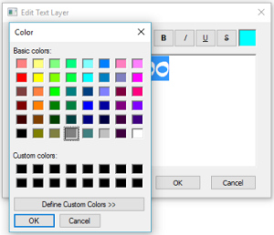 Changing the color of your text in Sketchbook Pro