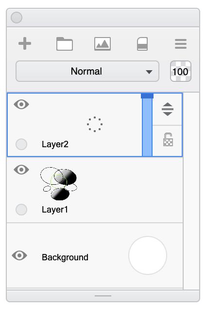 Using desktop layers in Sketchbook